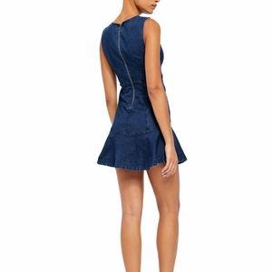 🆕️ Free People Alex Chambray mini dress